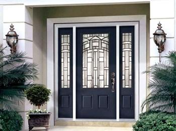 Выбираем входную дверь в частный дом