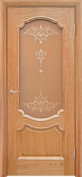"""Дверь межкомнатная остеклённая """"Венеция-3"""" - фото 5604"""