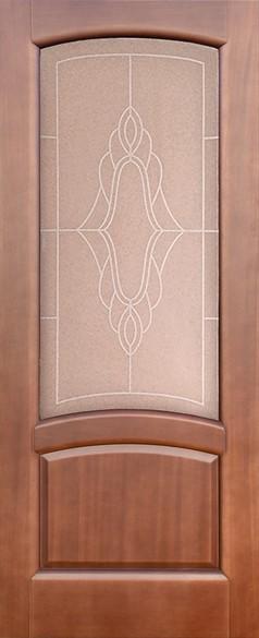 """Дверь межкомнатная остеклённая """"Соло-1"""" - фото 5627"""
