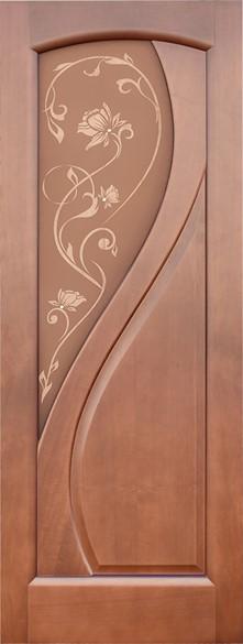 """Дверь межкомнатная остеклённая """"Версаль"""" - фото 5640"""