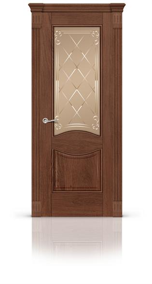 """Дверь межкомнатная со стеклом """"Онтарио"""" - фото 5873"""