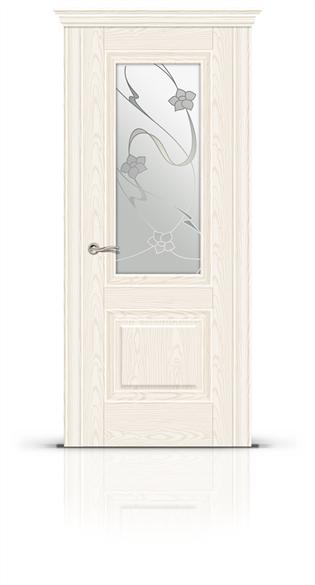 """Дверь межкомнатная со стеклом """"Элеганс 1"""" - фото 5874"""