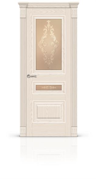 """Дверь межкомнатная со стеклом """"Элеганс 2"""" - фото 5879"""