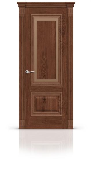 """Дверь межкомнатная со стеклом """"Элеганс 4"""" - фото 5887"""