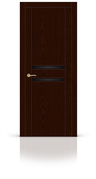 """Дверь межкомнатная со стеклом """"Турин 2"""" - фото 5902"""