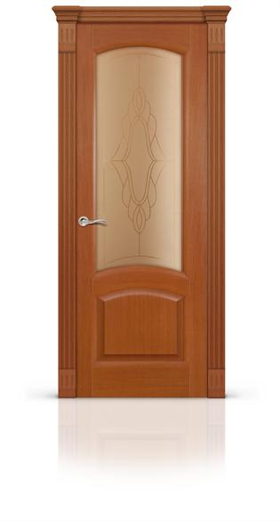 """Дверь межкомнатная со стеклом """"Александрит"""" - фото 5904"""
