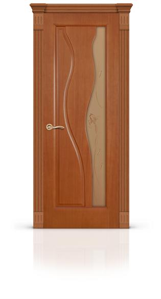 """Дверь межкомнатная со стеклом """"Сафари"""" - фото 5906"""
