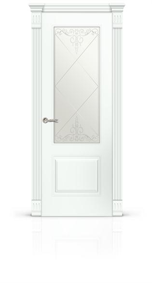 """Дверь межкомнатная со стеклом """"Вероник 1"""" - фото 5910"""
