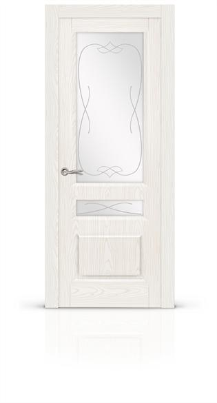 """Дверь межкомнатная со стеклом """"Малахит-2"""" - фото 5916"""