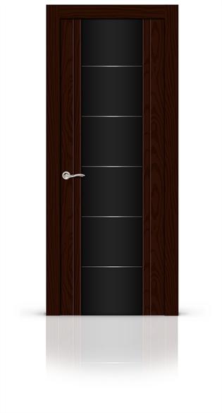 """Дверь межкомнатная со стеклом """"Виконт"""" - фото 5917"""