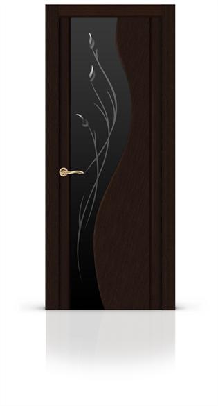 """Дверь межкомнатная со стеклом """"Корунд"""" - фото 5918"""