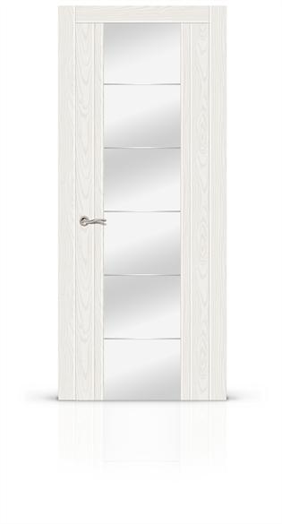 """Дверь межкомнатная с зеркалом """"Виконт"""" - фото 5920"""