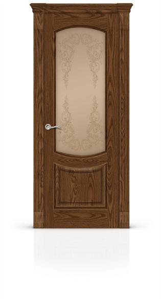 """Дверь межкомнатная остеклённая """"Калисто"""" - фото 5921"""