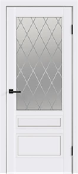 """Дверь межкомнатная остеклённая """"Scandi 3"""" - фото 6021"""