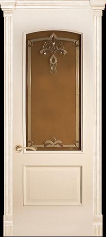 """Дверь межкомнатная остеклённая """"Анталия"""" - фото 6590"""