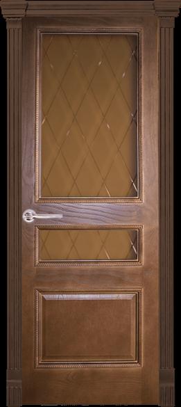 """Дверь межкомнатная остеклённая Т """"Ника-4"""" - фото 6611"""