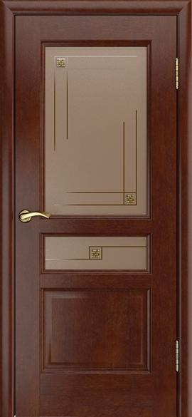 """Дверь межкомнатная остеклённая """"Анастасия"""" - фото 6806"""