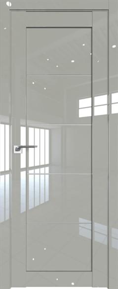 """Дверь межкомнатная остеклённая """"2.11L"""" - фото 6811"""