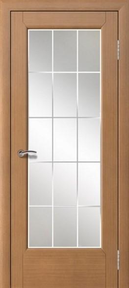 """Дверь межкомнатная остеклённая """"Мега"""" - фото 7514"""