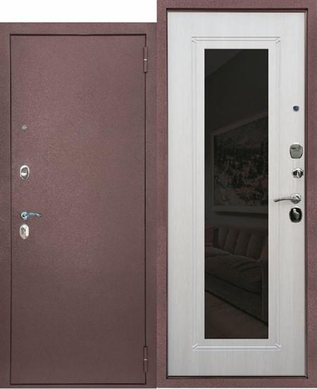 """Дверь входная с зеркалом """"Патриот"""" - фото 8315"""