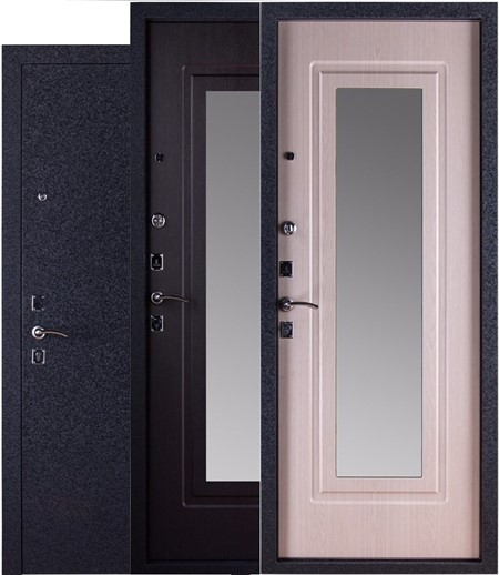 """Дверь входная с зеркалом """"Триумф"""" - фото 8343"""