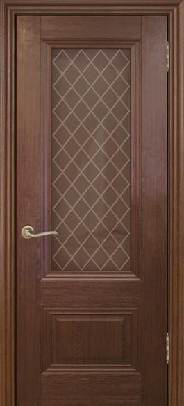 """Дверь межкомнатная остеклённая """" Барселона 1"""""""