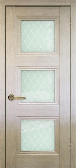 """Дверь межкомнатная остеклённая """"Барселона 3"""" - фото 8627"""