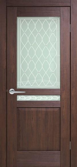 """Дверь межкомнатная со стеклом """"Италия 3"""""""