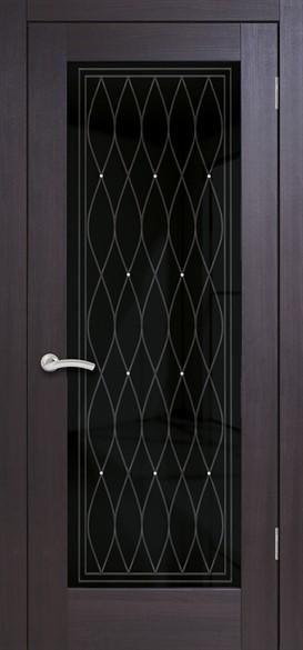"""Дверь межкомнатная остеклённая """"Италия 7"""" - фото 8650"""