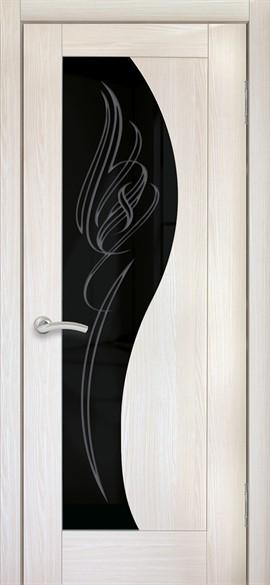 """Дверь межкомнатная остеклённая """"Италия 11"""" - фото 8654"""