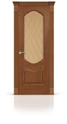 """Дверь межкомнатная со стеклом """"Гиацинт"""""""