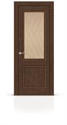 """Дверь межкомнатная со стеклом """"Энигма 1"""""""