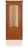 """Дверь межкомнатная со стеклом """"Александрит"""""""