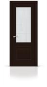 """Дверь межкомнатная со стеклом """"Малахит 1 (Classic)"""""""