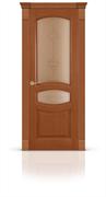 """Дверь межкомнатная со стеклом """"Топаз"""""""