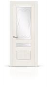"""Дверь межкомнатная со стеклом """"Малахит-2"""""""