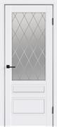 """Дверь межкомнатная остеклённая """"Scandi 3"""""""