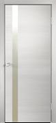 """Дверь межкомнатная с белым/черным стеклом """"Scandi F"""""""
