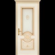 "Дверь межкомнатная остеклённая ""Гамма корона - B3"""