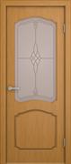 """Дверь межкомнатная остеклённая """"Каролина"""""""