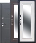 """Дверь входная с фацетным зеркалом """"Гарда"""" 7,5 см"""