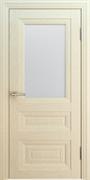 """Дверь межкомнатная остеклённая """"Вена с багетом 1"""""""