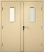 Дверь остеклённая строительная под покраску